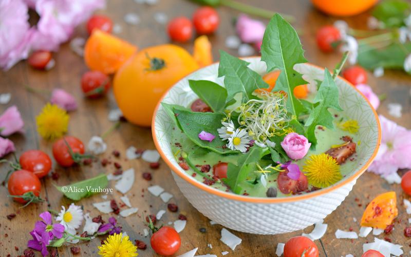 oseille recette salade